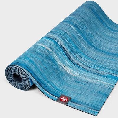 Yogamatta 4mm eKOLite Dresden Blue Marbled - Manduka