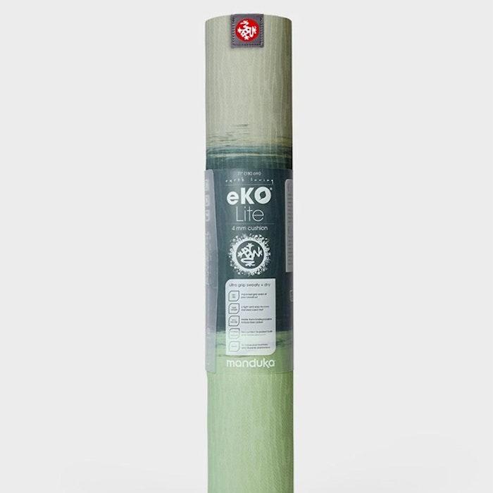 Yogamatta 4mm eKOLite Green Ash Stripe - Manduka