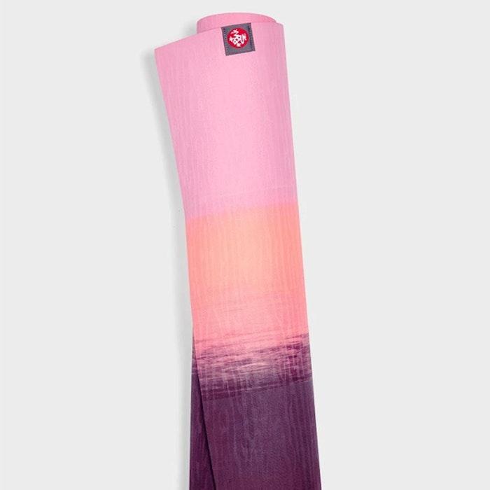 Yogamatta 4mm eKOLite Fuchsia Stripe - Manduka