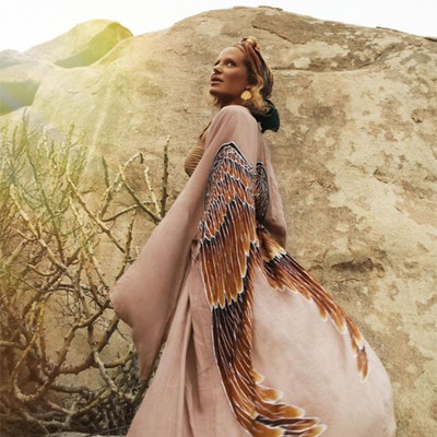 "Everyday kimono ""Mushroom Purple Caramel wings"" - Warriors of the divine"