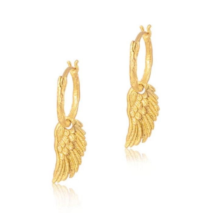 """Örhänge """"Spread your wings"""" förgyllt - Ananda Soul"""