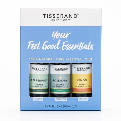"Eteriska oljor ""Feel Good"" 3-pack oljor - Tisserand Aromatherapy"