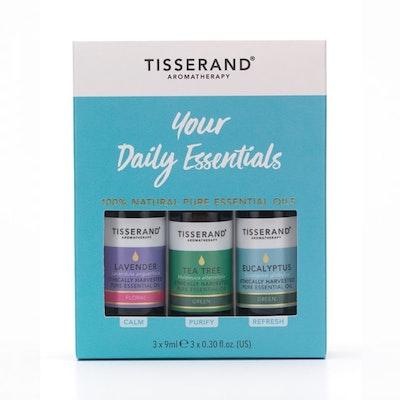 "Eteriska oljor ""Daily"" 3-pack oljor - Tisserand Aromatherapy"