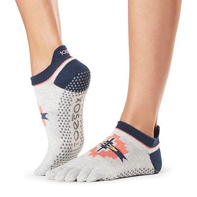 """Yogastrumpor """"Yonder"""" Full Toe Low Rise - Toesox"""