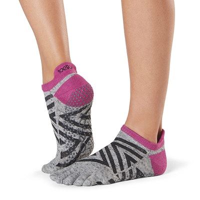 "Yogastrumpor ""Ziggy"" Full Toe Low Rise - Toesox"
