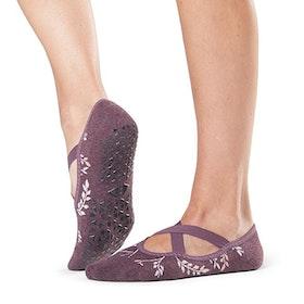 Yogastrumpor ''Mystic'' Chloe Grip Socks - Tavi Noir