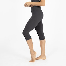 Yogaleggings Crop Length Wonder Luxe Black - Dharma Bums