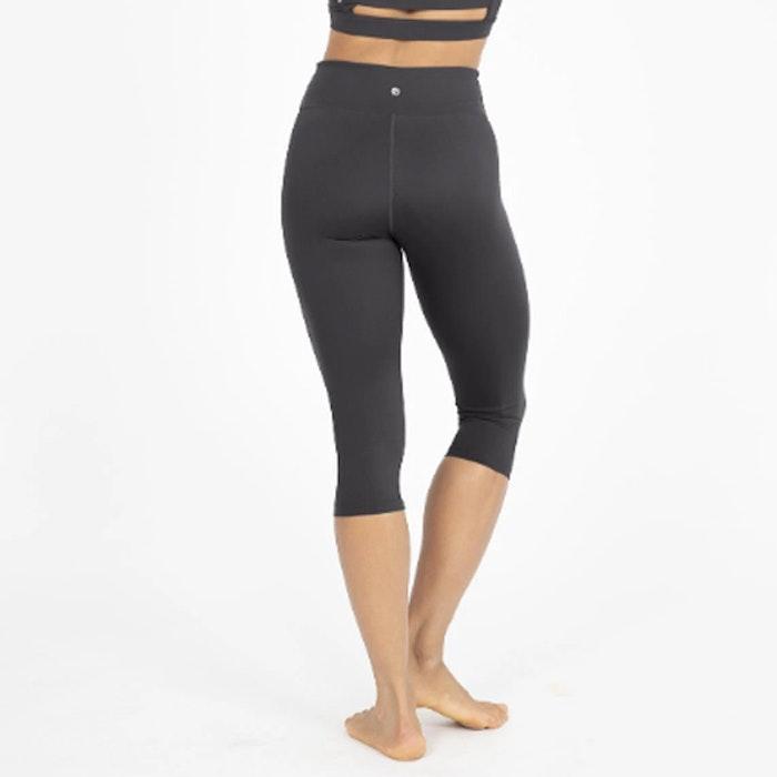 Yogaleggings Crop Length Wonder Luxe Black - Dharma Bums