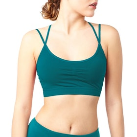 Sport-BH Yoga Slim Studio Tropical Green - Mandala