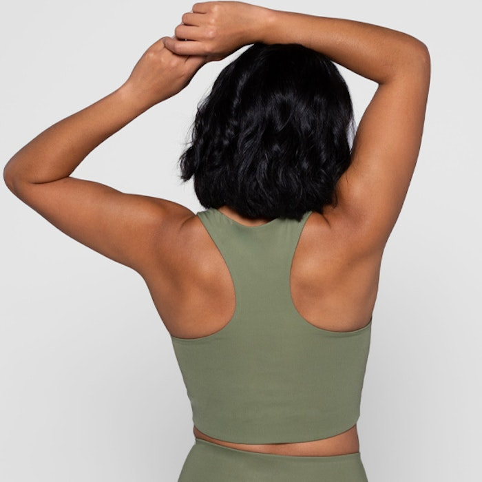 Sport-BH Yoga Paloma Olive - Girlfriend Collective