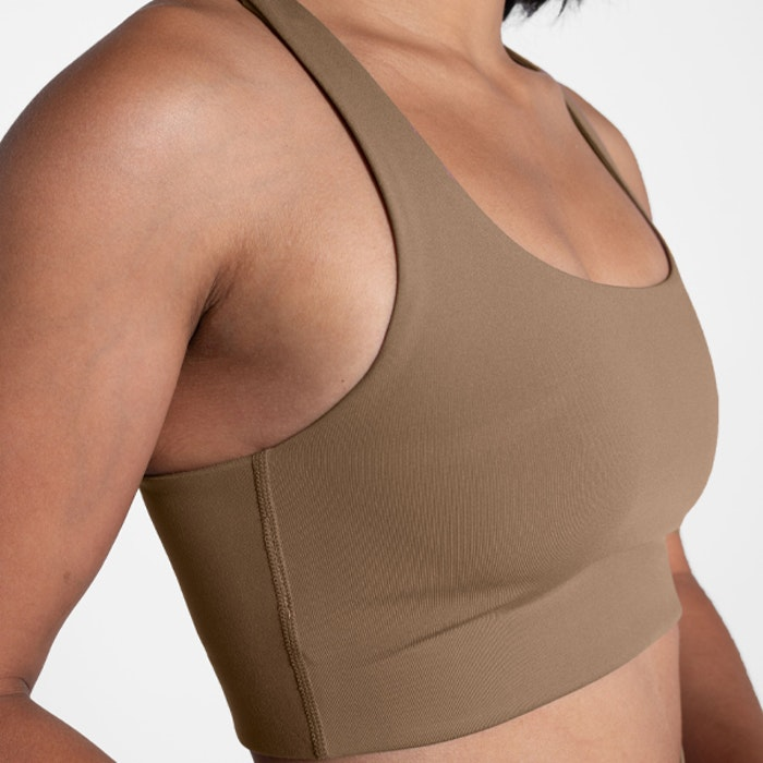 Sport-BH Yoga Paloma Sand - Girlfriend Collective
