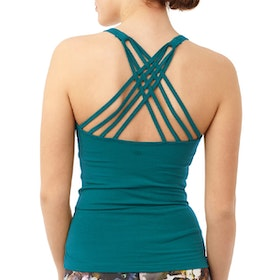 Yogalinne Infinity Top Tropical Green - Mandala