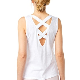 Yogalinne Beach Top White - Mandala