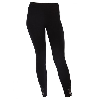 Yogaleggings Hamsa Bamboo Black - Run & Relax