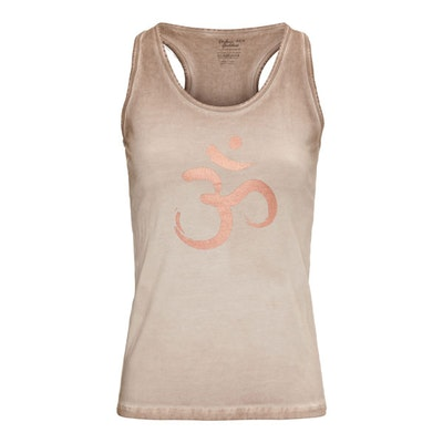 Yogatopp/linne OM Off earth - Urban Goddess