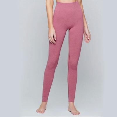 Yogaleggings Seamless Heather Pink - Moonchild Yogawear