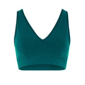 Sport-BH V-Neck Tropical Green - Mandala