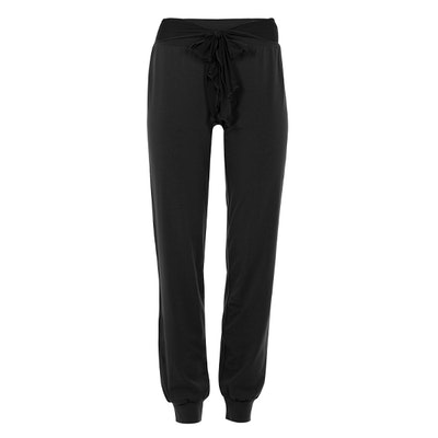 Yogabyxor Belted Tracker Pants Black - Mandala