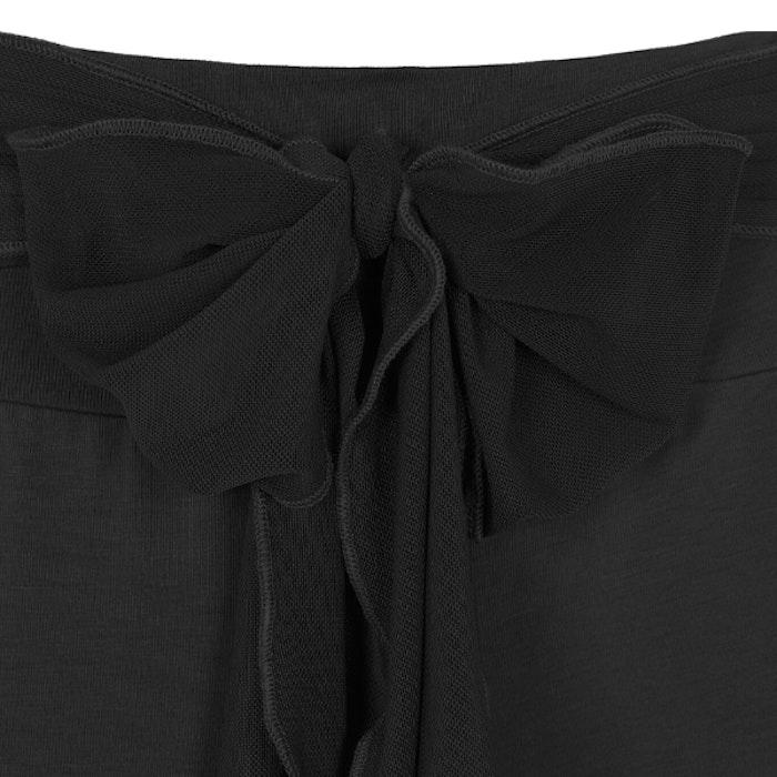 Yogabyxor Belted Tracker Pants Black - Mandala