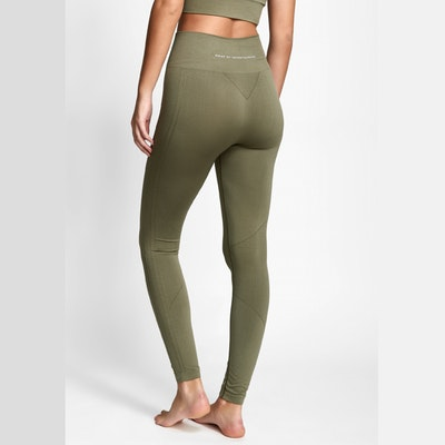 Yogaleggings Seamless CORA Light Olive - DOM