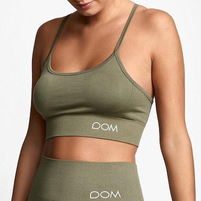 Sport-BH Yoga Seamless Trinity Light Olive - DOM