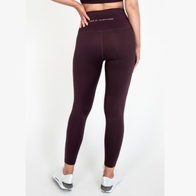 Yogaleggings Eden Brown Raisin - DOM
