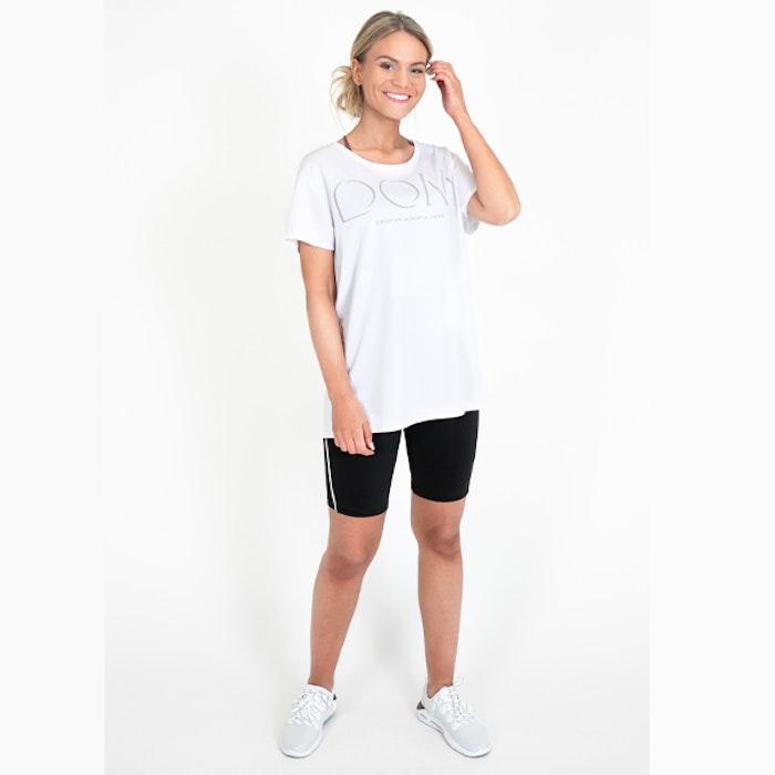 Yogashorts Eden Short Piped Black - DOM