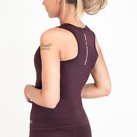 Yogalinne Caroline Brown Raisin - DOM