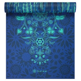 Yogamatta 6mm Reversible Divine Impressions - Gaiam