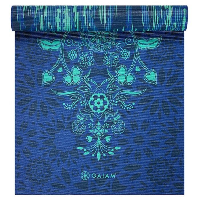 Yogamatta 6mm Reversible Divine Impressions - Gaiam