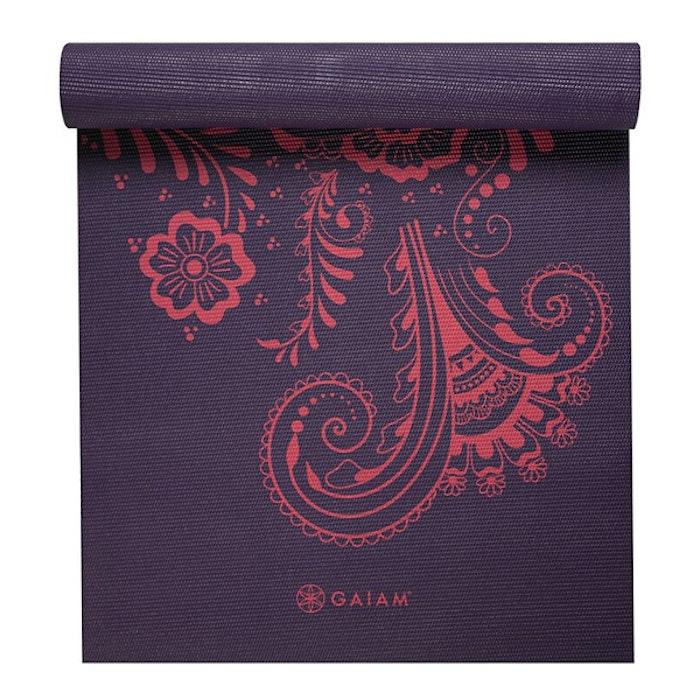 Yogamatta 6mm Aubergine Swirl - Gaiam