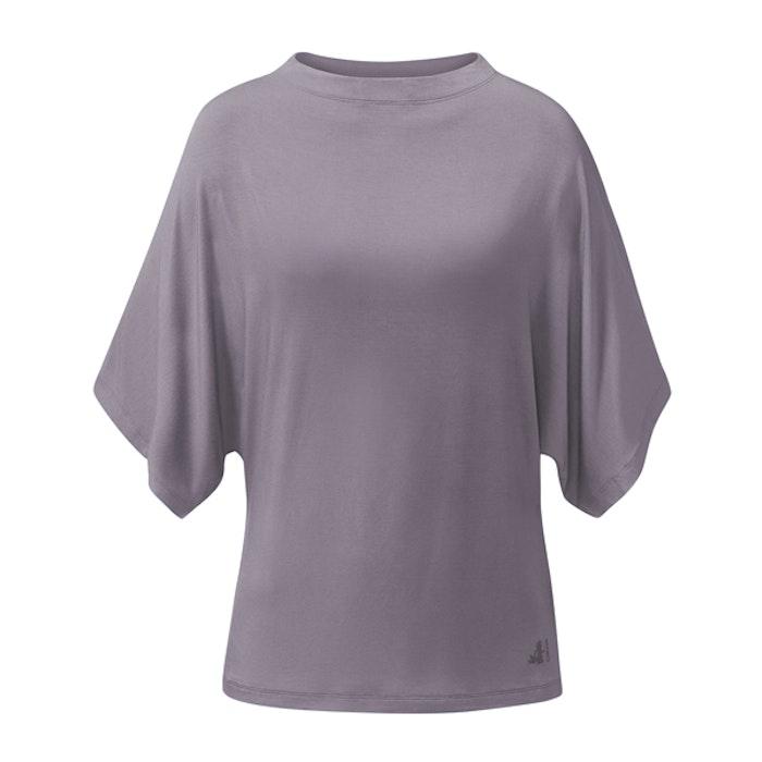 Yogatröja Batwing Pearl Grey - Curare Yogawear