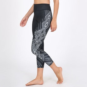 Yogaleggings Bohi Recycled High Waist 7/8 - Dharma Bums