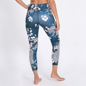 Yogaleggings Jungle Nights Recycled High Waist 7/8 - Dharma Bums