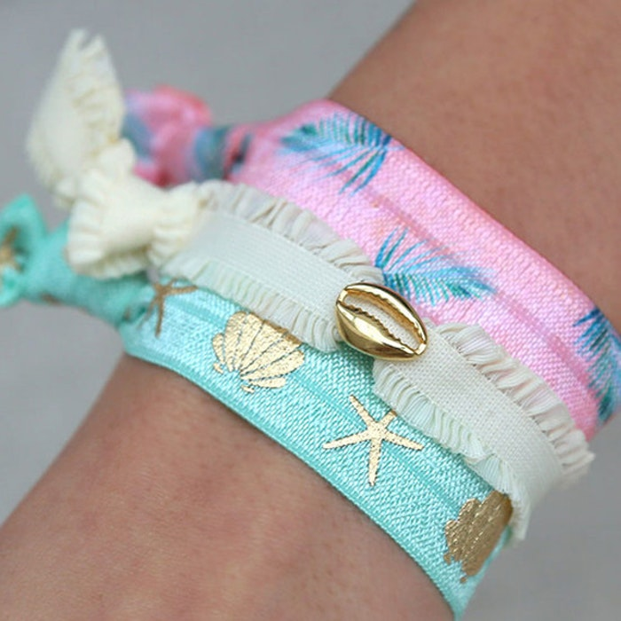 Hairties hårband/armband Paradise - Love Ibiza