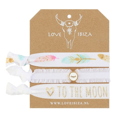 Hairties hårband/armband Moonset - Love Ibiza