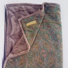 Yogafilt Sari/silke Olive - E-swiss
