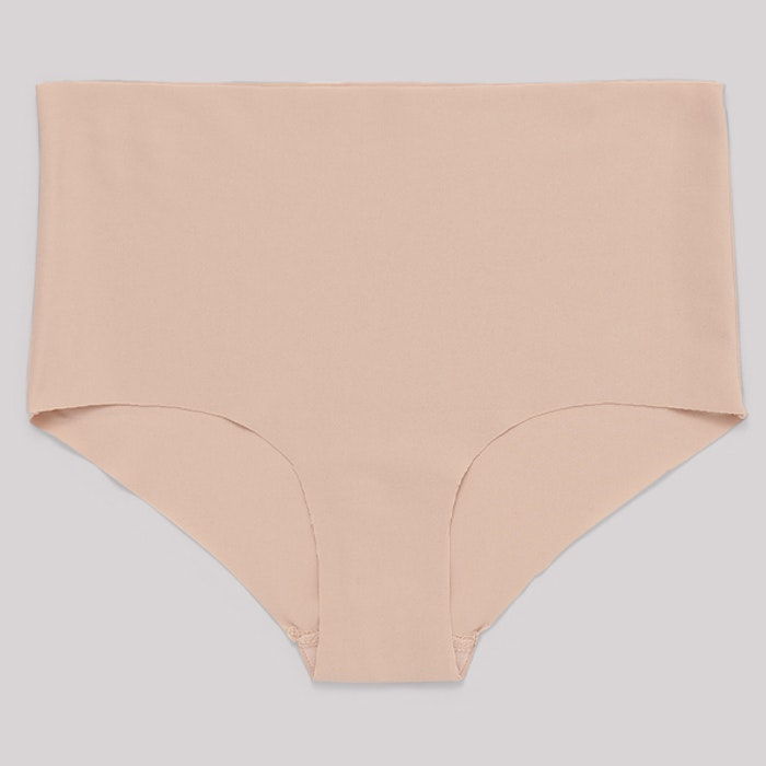 Trosor 2-pack Invisible Cheeky High-Rise Rose Nude - Organic Basics