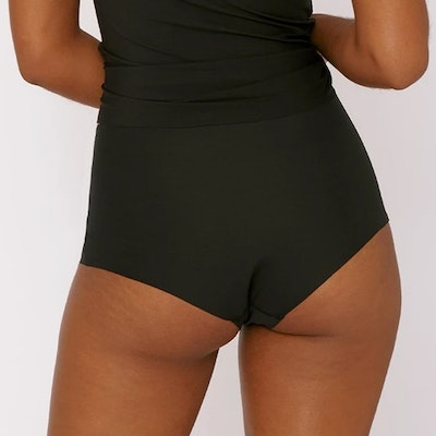 Trosor 2-pack Invisible Cheeky High-Rise Black - Organic Basics