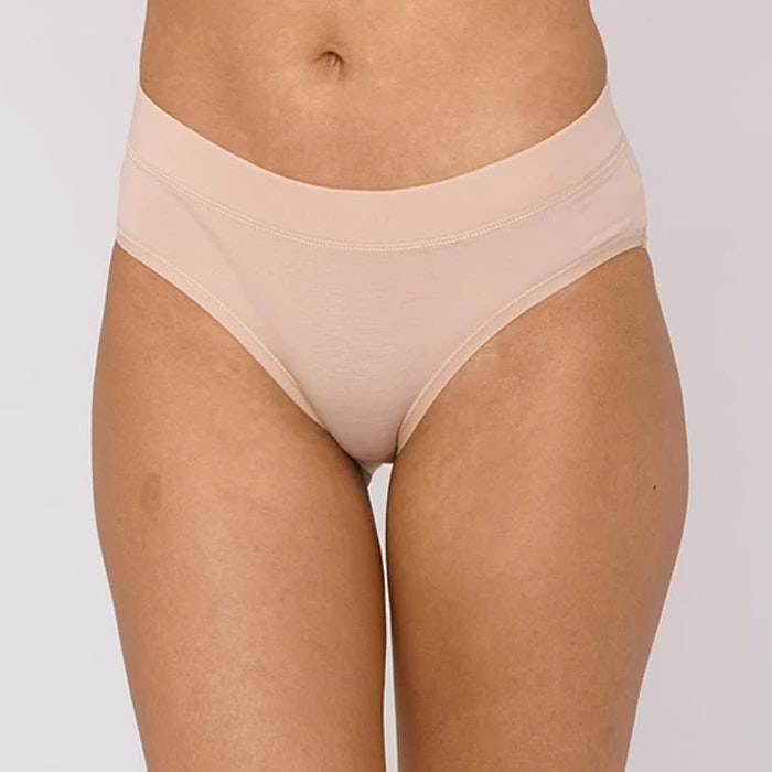 Trosor 2-pack Organic Cotton Briefs Rose Nude - Organic Basics