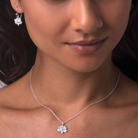 "Halsband ""Padma"" silver från Ananda Soul"