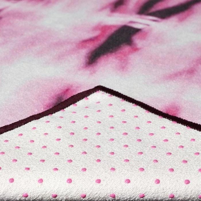 Yogahandduk Yogitoes Tie Dye Fuchsia - Manduka