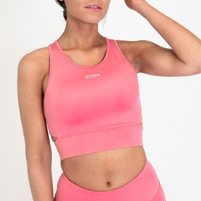 Sport-BH Yoga Melanie Pink Coral - DOM