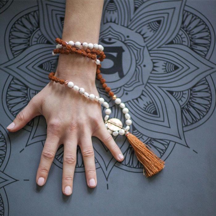 Yogamatta Rama 7 Chakra Dark Grey Instant Strong Grip - OHMat