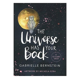 "Affirmationskort ""The Universe Has Your Back"" - Gabrielle Bernstein"