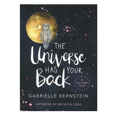 "Affirmationskort ""The Universe Has Your Back"" - Gabrielle Bernstein"
