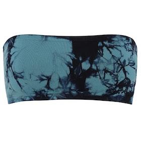 Illusion Yoga Seamless Bandeau Aura Blue - Moonchild Yogawear