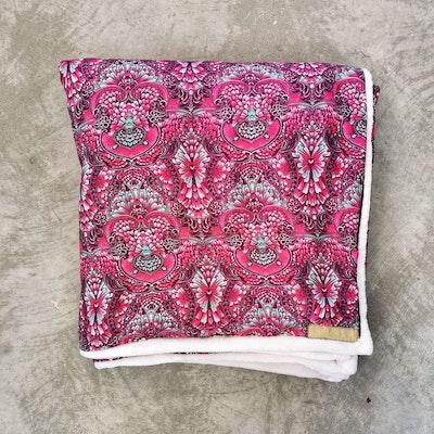 Yogafilt Sari/silke Vino-white - E-swiss