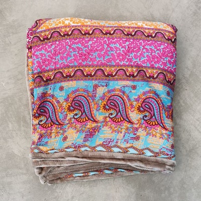 Yogafilt Sari/silke Indian spice sand - E-swiss