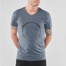 T-shirt Moksha Zen Green Earth (blå/grå) - Renegade Guru